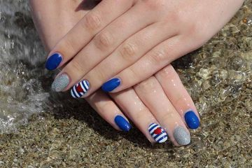 Summer Sailor Nail Art