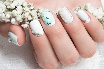 Beautiful Wedding Nail Art Designs