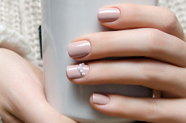 Irresistible nude nail designs prinsesfo Image collections