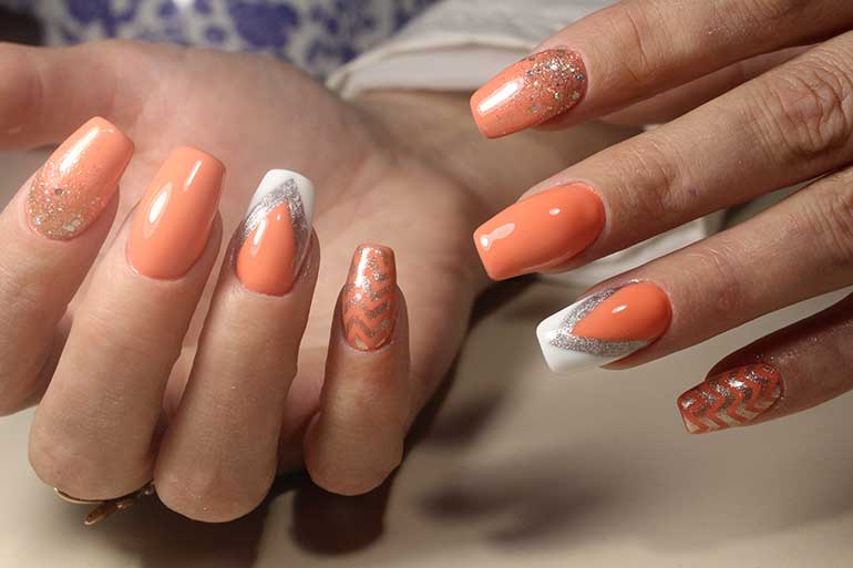 Cool acrylic nail designs to try nailschick long acrylic nails keep them long prinsesfo Images